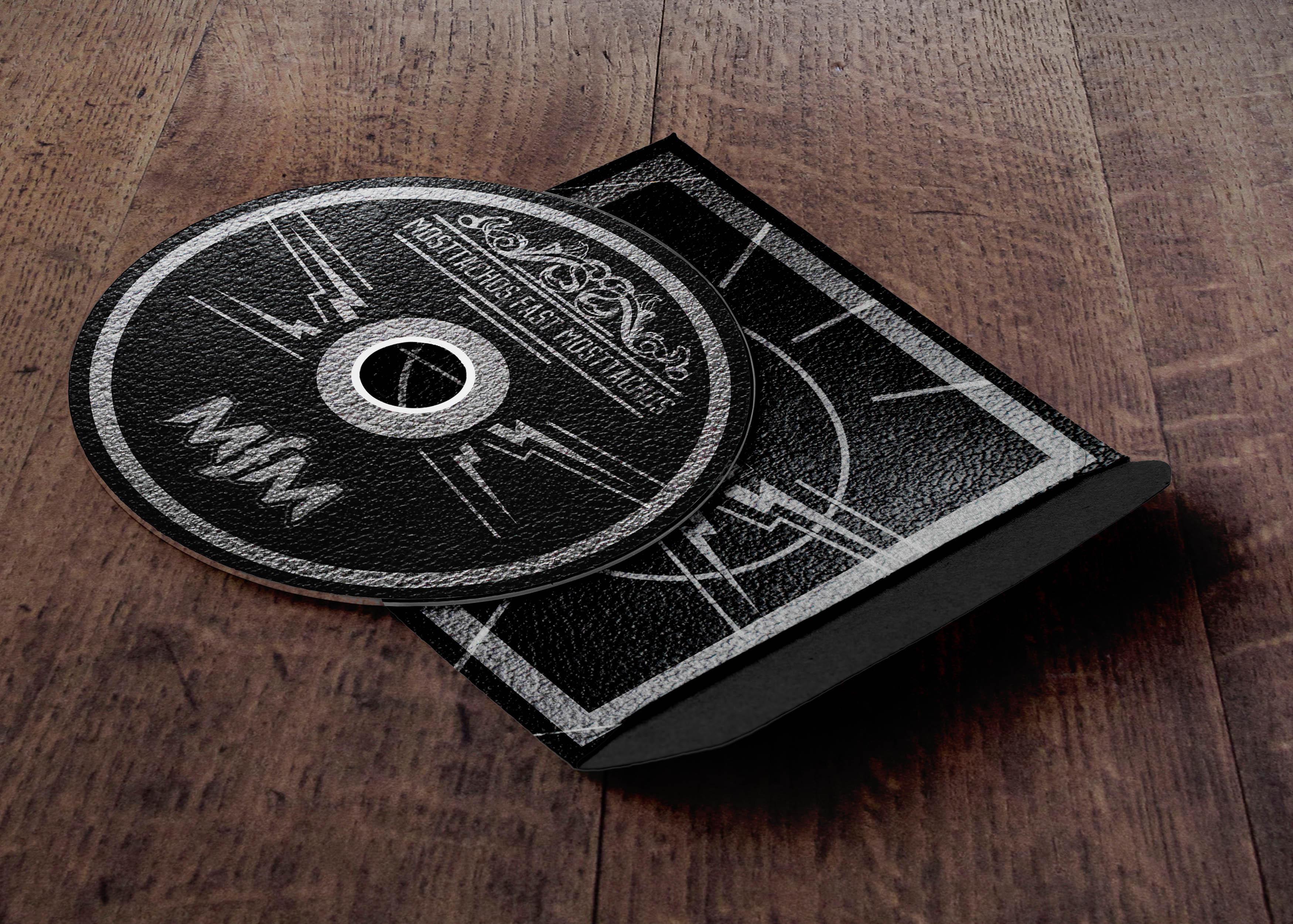 diseño de disco de rock