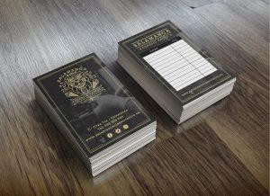 tarjetas de cita estudio tattoo